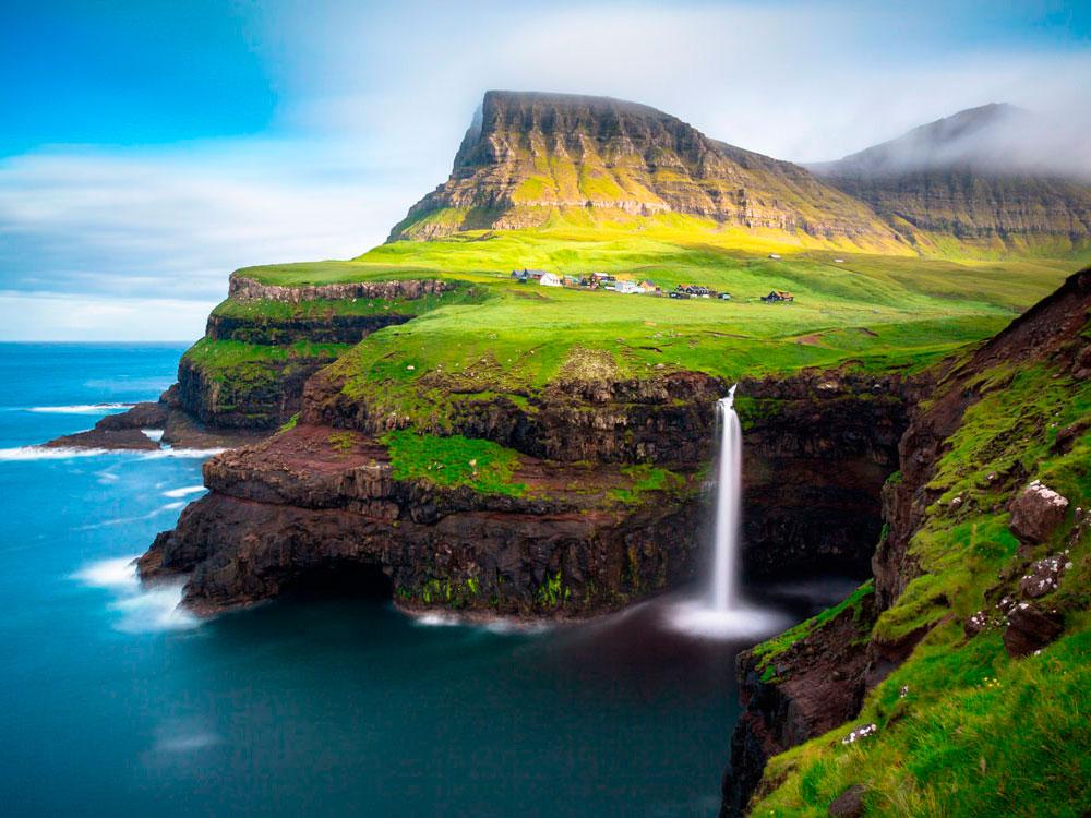 Водопад Мулафоссур, Исландия