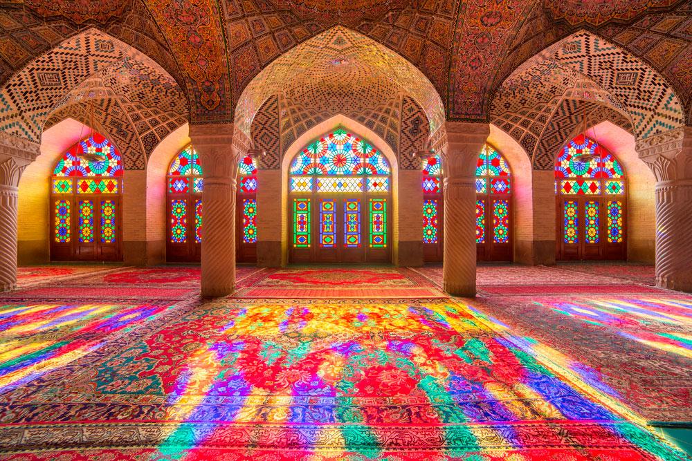 Мечеть Насир аль Мульк в Ширазе