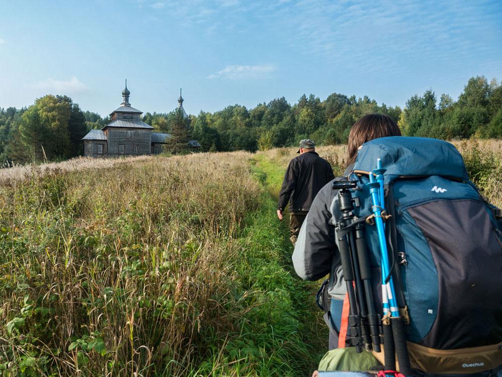 Часовня деревни Ведягино, Кенозерский национальный парк