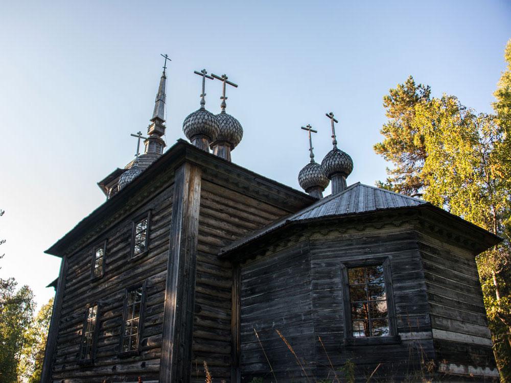 Церковь Александра Свирского на Хижгоре
