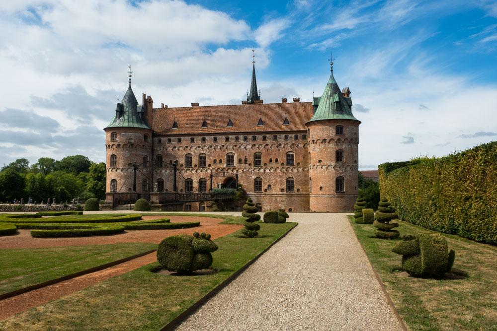 Замок Эгесков, Дания