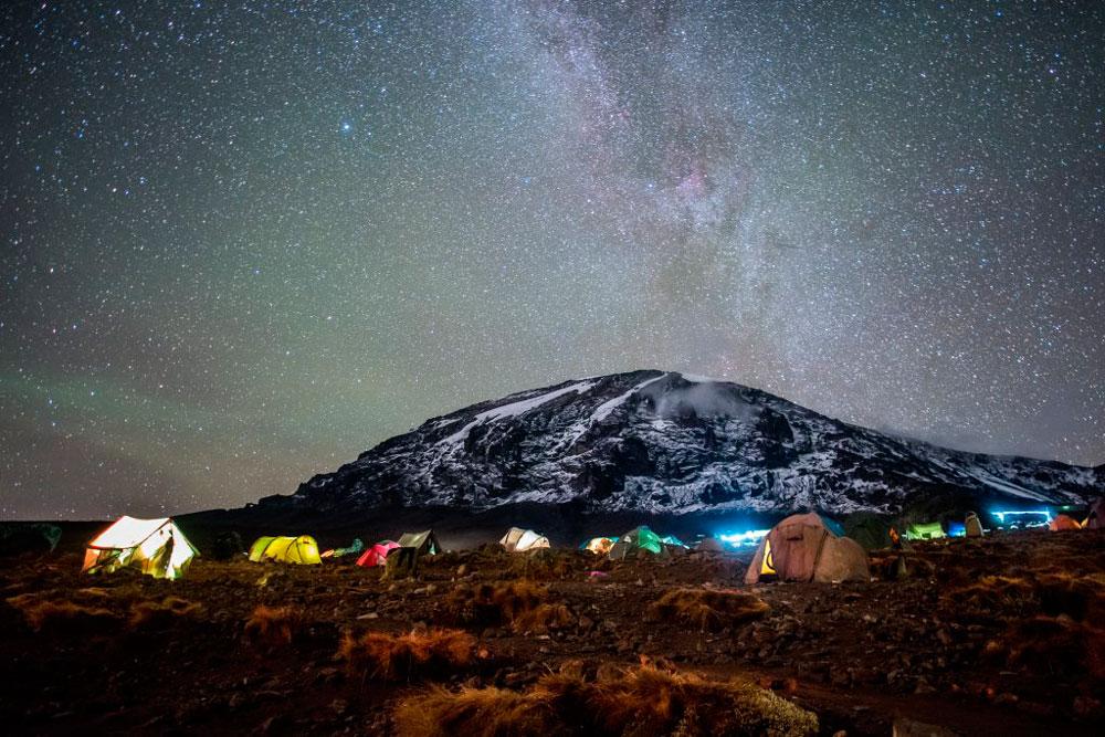 Ночь у подножия Килиманджаро