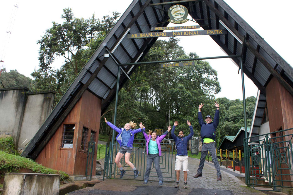 Ворота  Мачаме - вход на национальный парк Килиманджаро