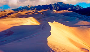 Чарские пески и Кодарский хребет