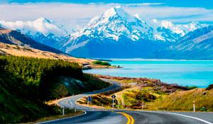Авто походный тур Вся Новая Зеландия