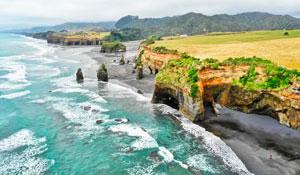 Новая Зеландия с юга на север