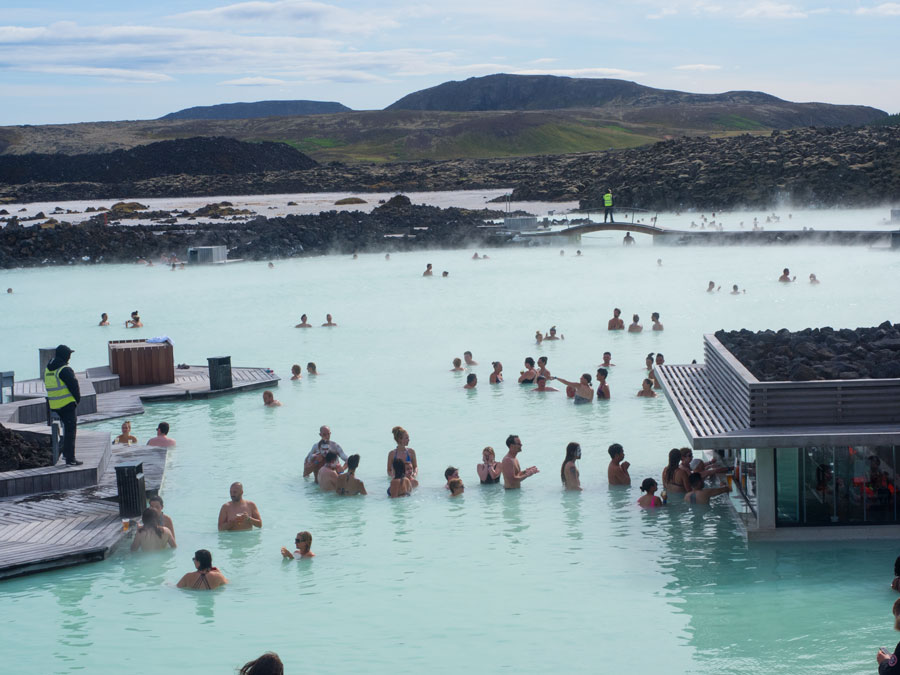 Голубая лагуна. Исландия