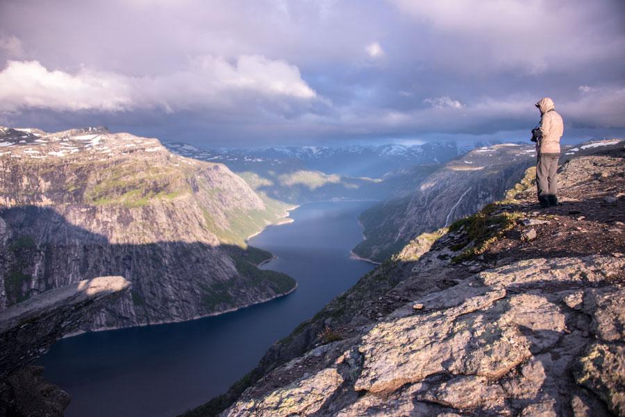 Язык Тролля (Trolltunga). Тур Евгения Андросова в Норвегию