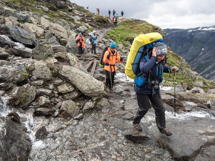 Поход к Языку Тролля (Trolltunga). Тур Евгения Андросова в Норвегию