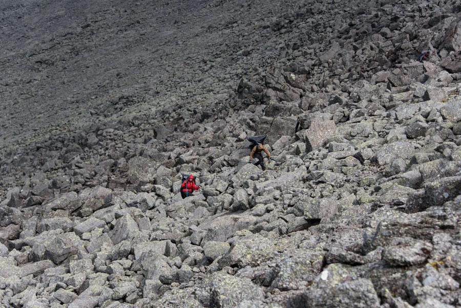 Вохождение на перевал Арсеньева Восточный