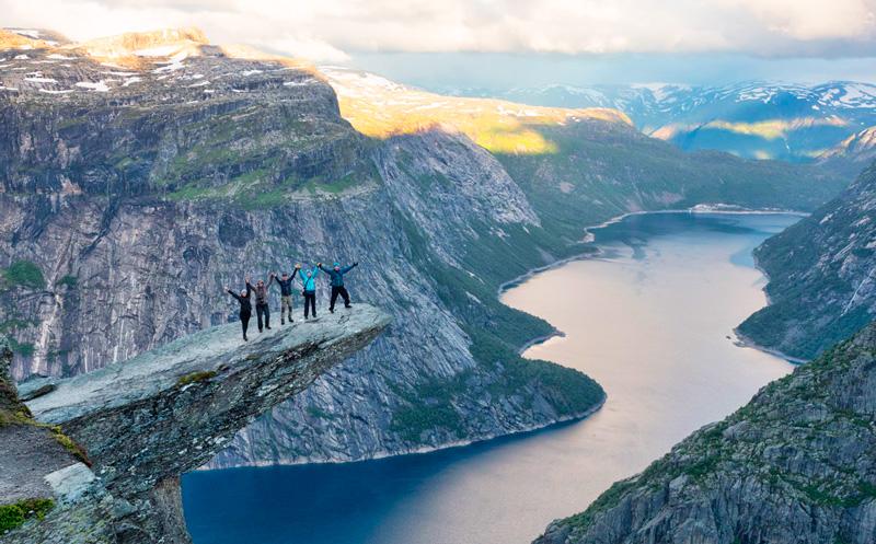 На Языке тролля, Норвегия